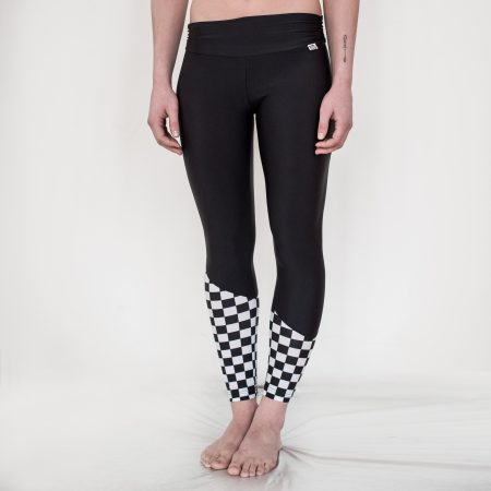 Leggings b&w cubes