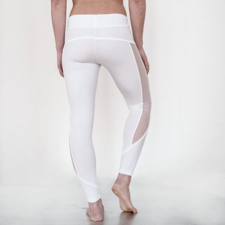 Leggings #runsilrun WHITE