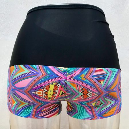 Shorts CRYSTALS high waist