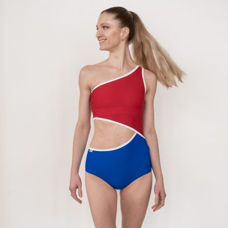 Leotard in CZECH national colors