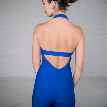 Leotard one piece style in BLUE